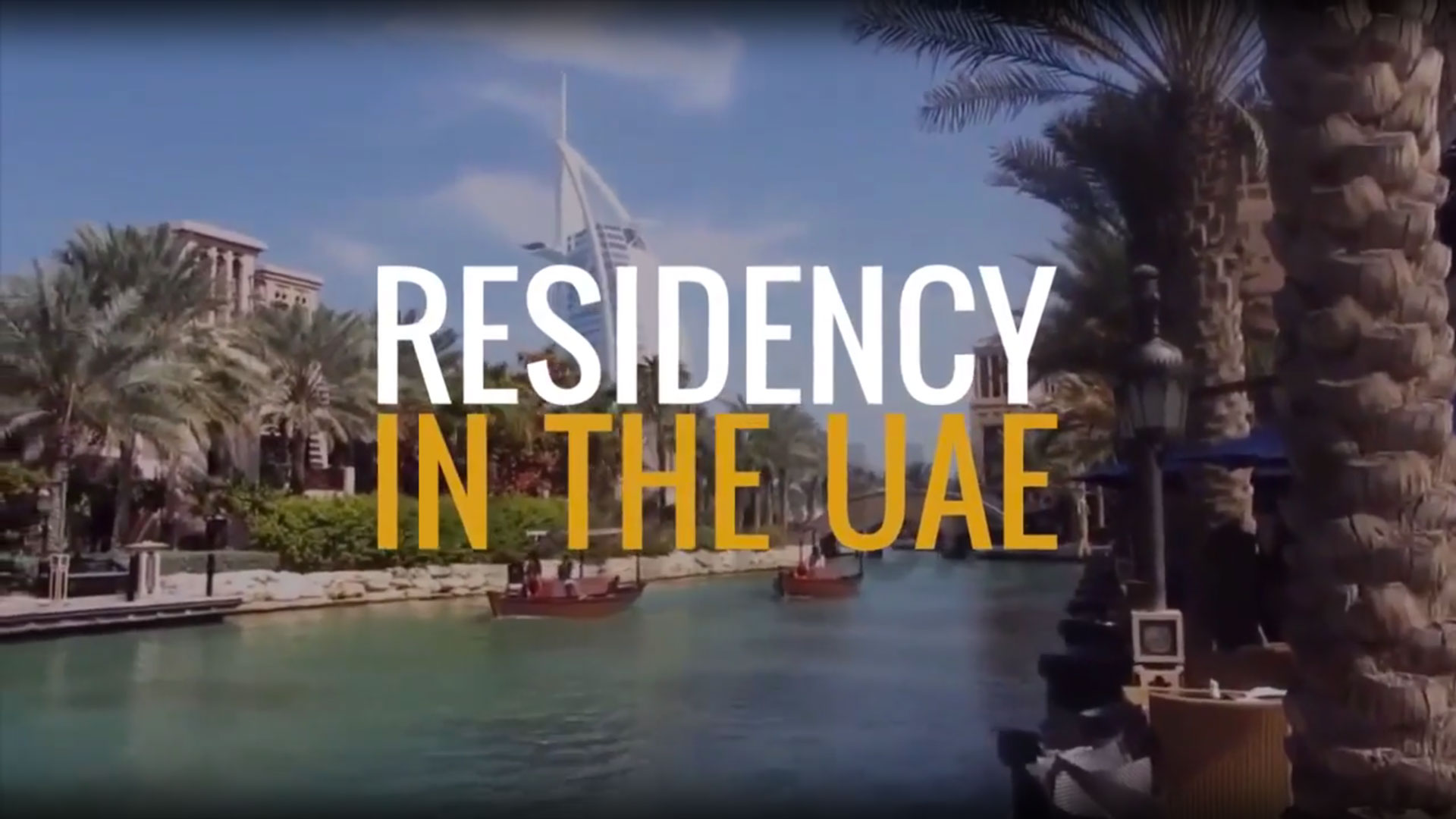 Residence in the UAE: a look at the situation with the experts of Trinity Corporate Services