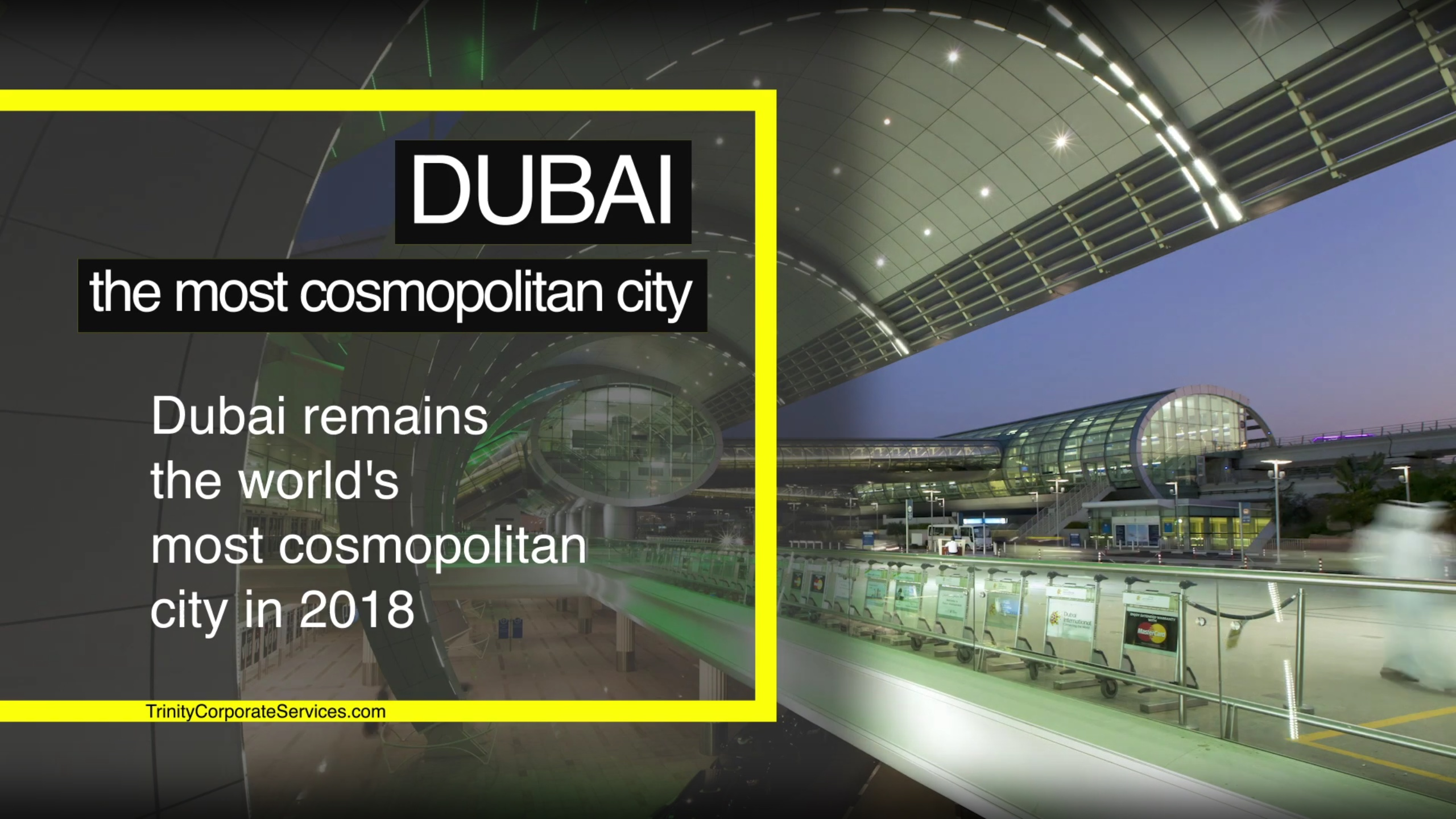Dubai - The most cosmopolitan city